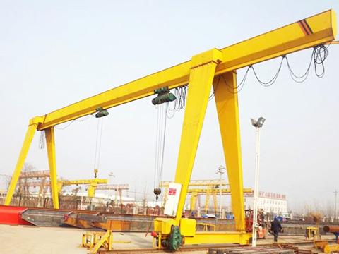 common single beam gantry crane sales