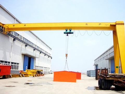 semi single girder gantry crane for sale