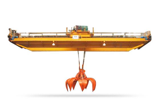 Double Girder Grab Overhead Crane