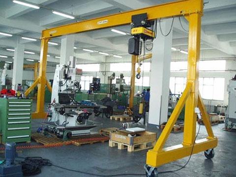 common garage gantry crane sale
