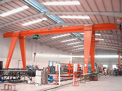 single girder garage gantry crane sales