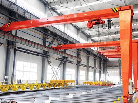 single girder garage gantry crane supplier