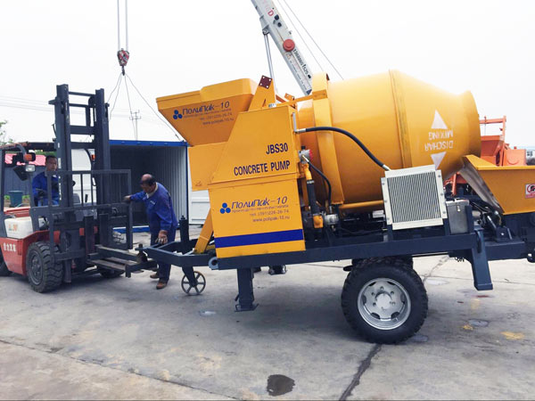 JBS30 concrete mixer pump