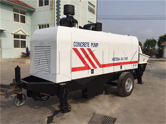 Chinese Trailer Concrete Pumps  buy
