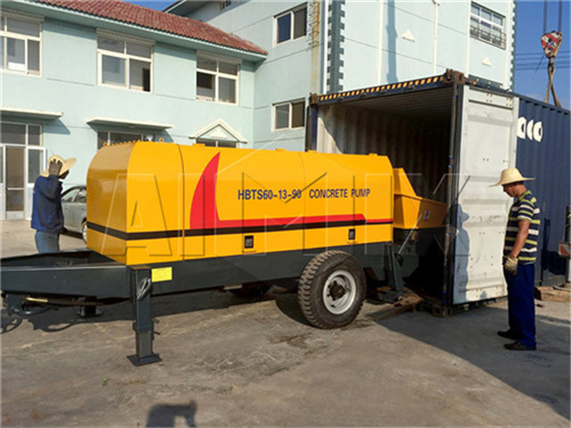 Concrete Pump in China cost