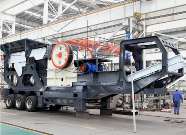 Mobile Jaw Crusher Plant For Sale